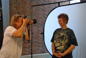 Fotograf Carsten Hokemar erstellt ein Portraitfoto